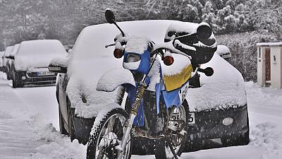 Jízda na motorce v zimě? Ano, jistě, ale...